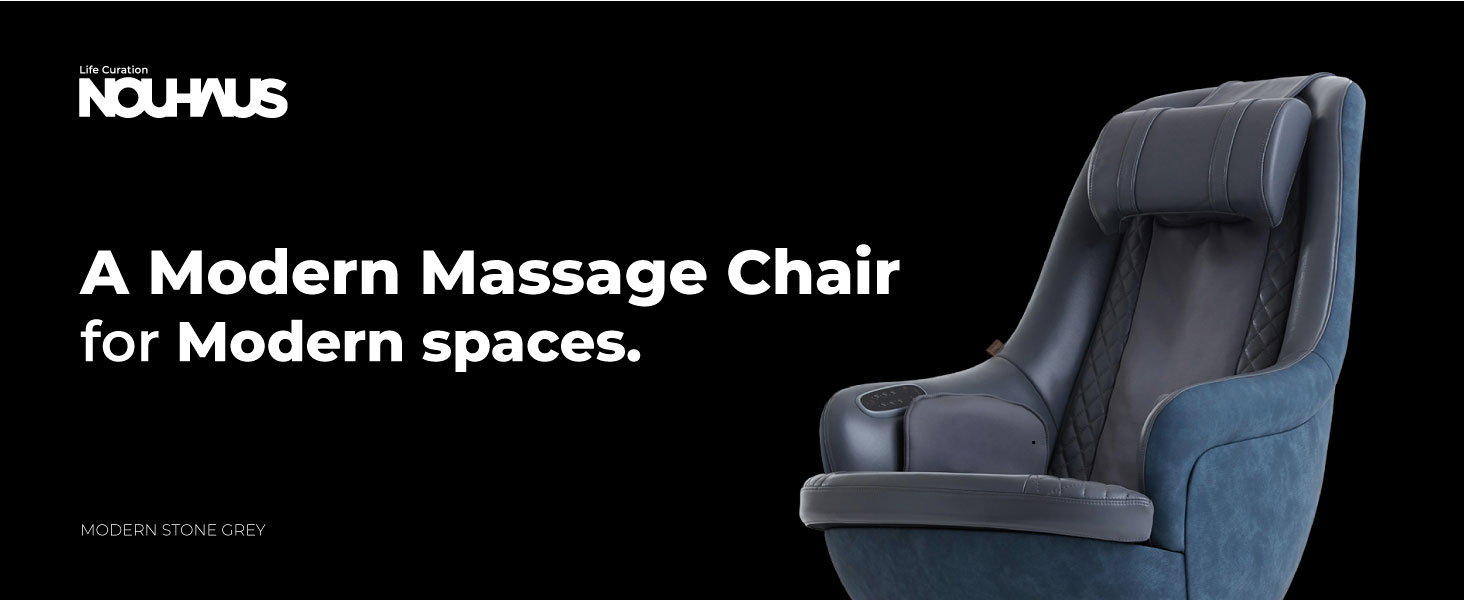 A Modern Massage Chair for Modern Spaces.