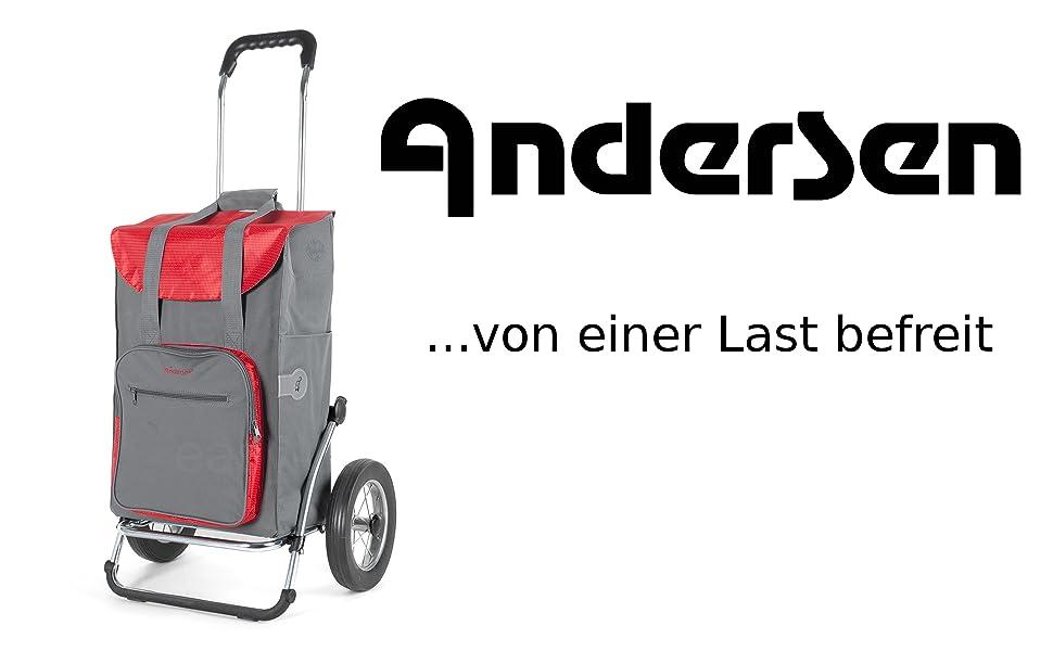 Andersen Shopper Royal mit Metallspeichen und Einkaufstasche Wismar mit Thermofach