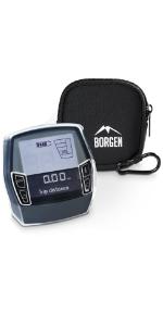 TPU-beschermhoes van Borgen met beschermhoes, geschikt voor Bosch Intuvia E Bike aandrijving Ebike E Bike.