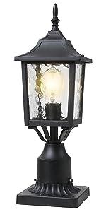 BEEZOK Exterior Lantern Outdoor Post Light