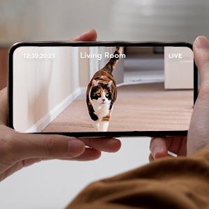 pet dog camera with phone app