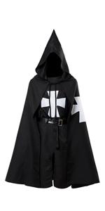 Medieval Templar Knight Cloak