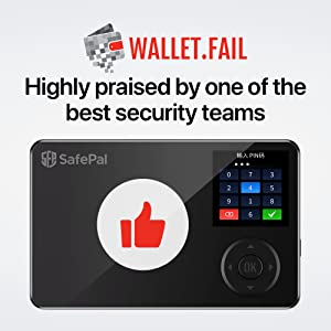 highly praised by Wallet.Fail team