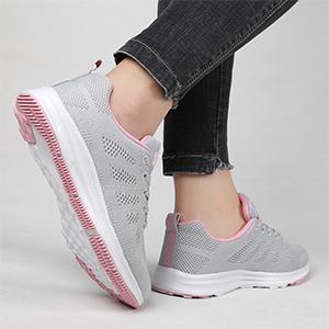 mesh sneakers women's shoes casual tennis shoes running shoes women athletic shoes women pink shoes
