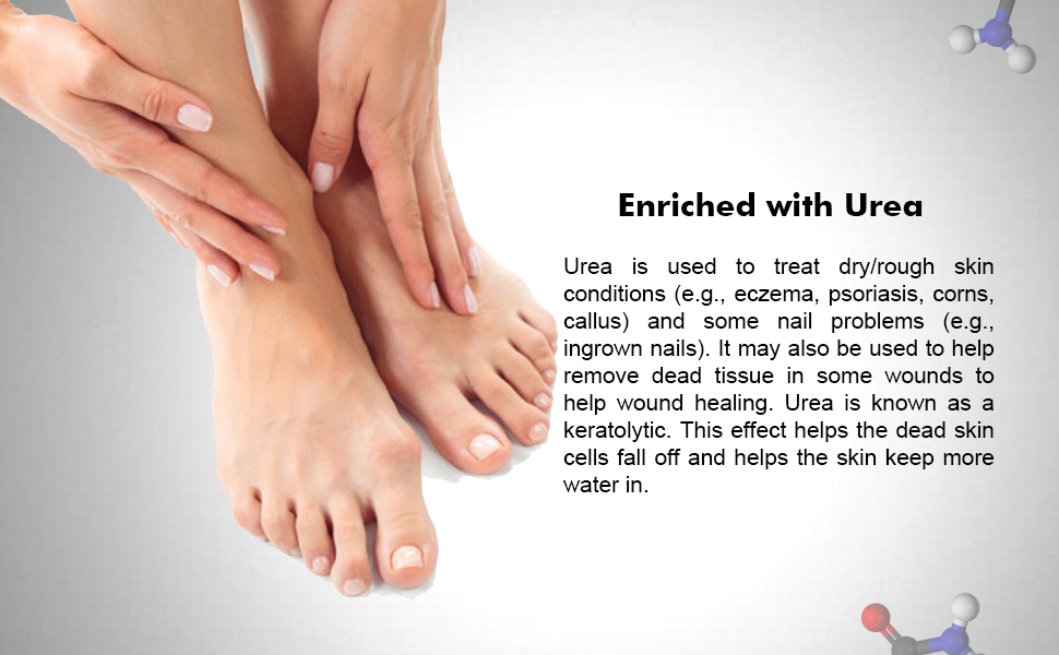 Urea Foot Cream Urea Cream 40 Percent Callus Remover for Feet Foot Cream for Dry Cracked Feet
