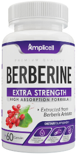 natural berberine capsules blood flow supplement cardiovascular health immune support blood sugar