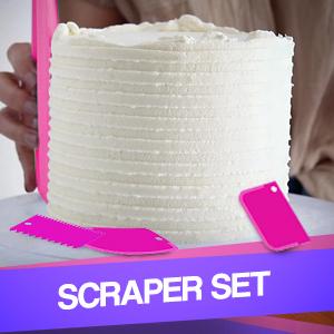 cake decorating kit, cake turntable , 24 Numbered Piping Tips,Cake leveler