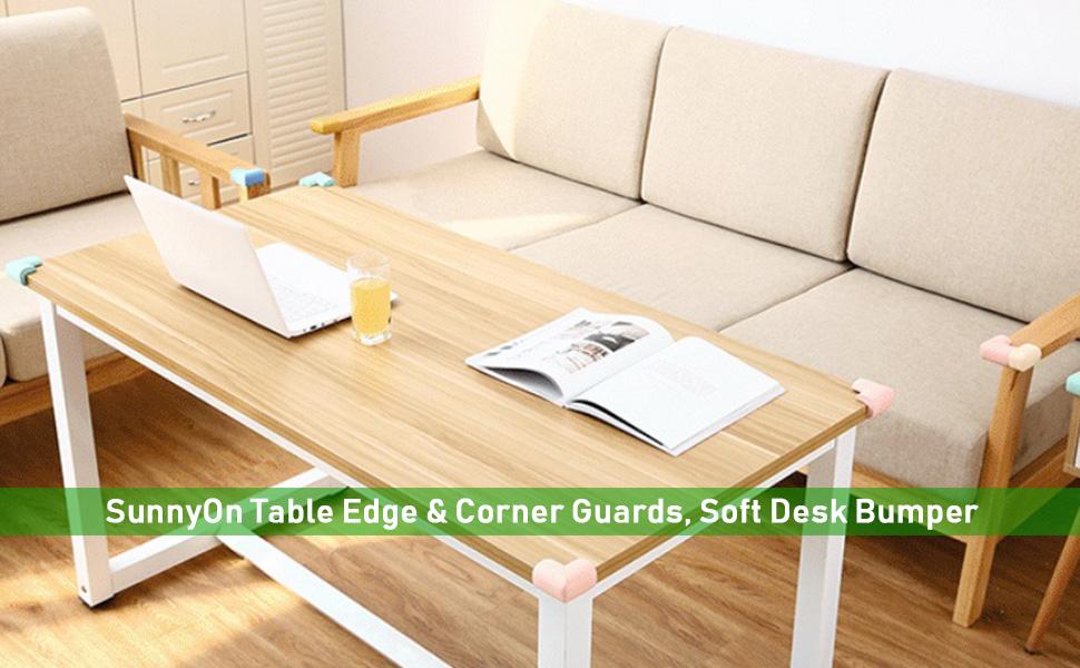 Edge & Corner Guards, 8 Pack, Soft Bumper