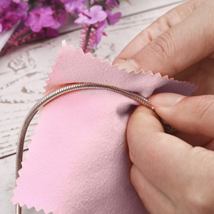 You can apply them to silver earrings, rings and necklaces