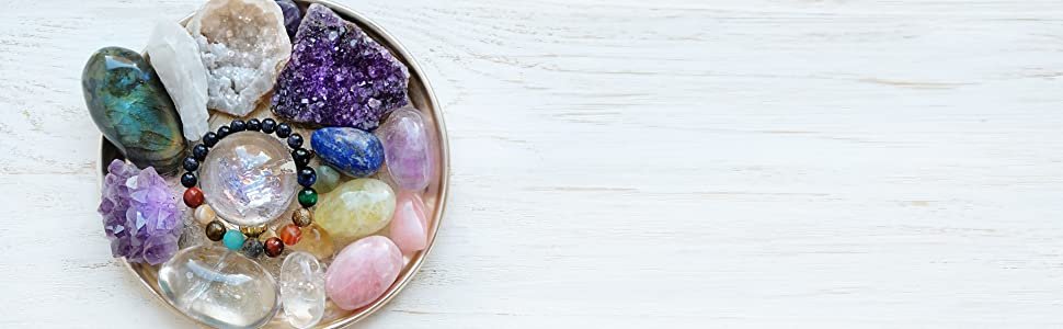 Reiki crystal - chakra balancing stones