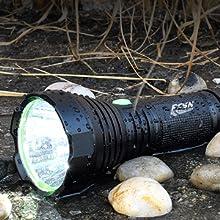 waterproof flashlight rechargeable best flashlight high lumens water proof flashlight super bright