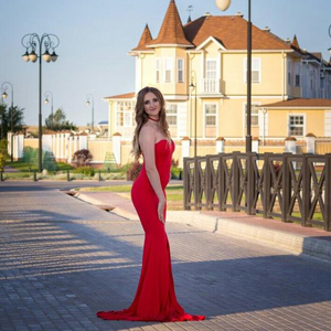 outside gown