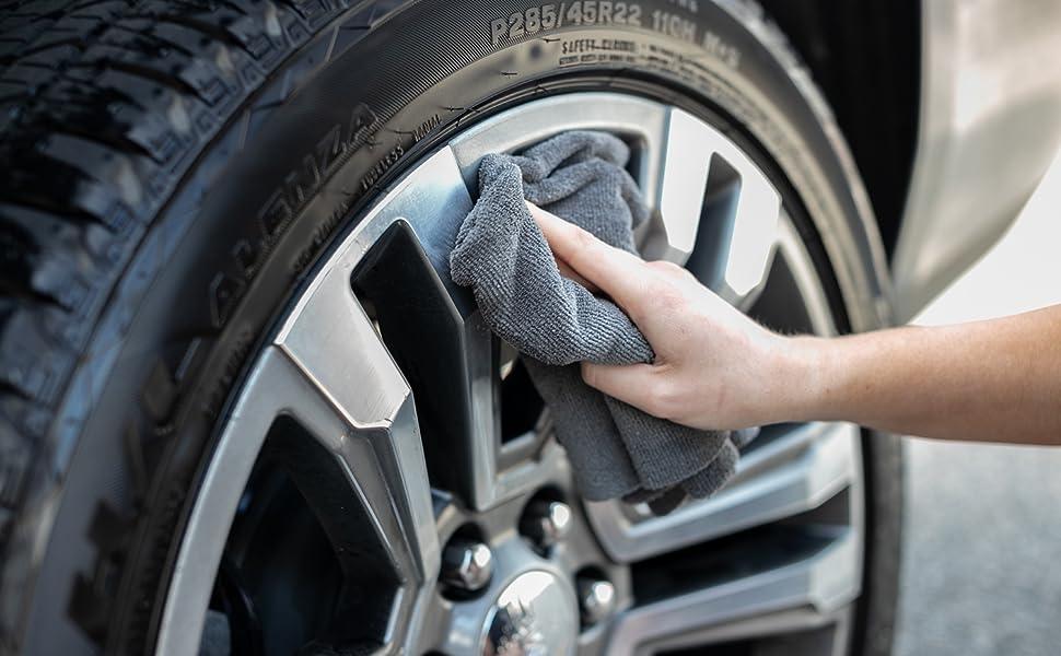 Mini Miner Microfiber Towel Auto Detailing Polish Metal Chrome The Rag Company