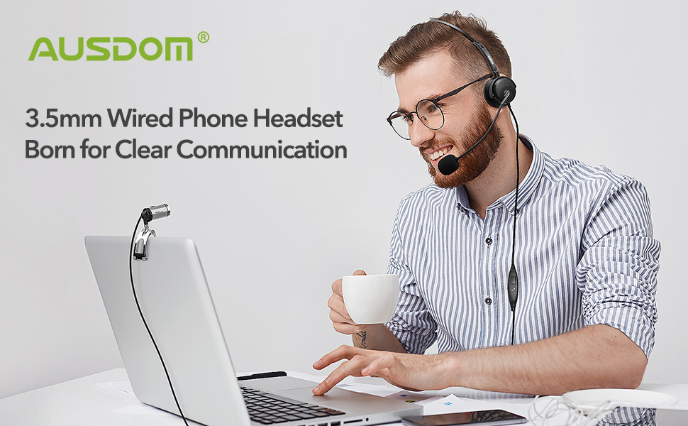 Wired Cell Phone Headset