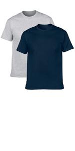cotton short sleeve t shirt 2 pack
