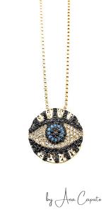 Evil Eye Pendant Necklace
