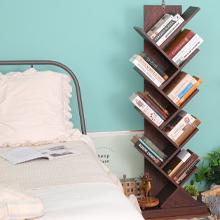 Bookshelves Storage Rack with Wooden Look Furniture
