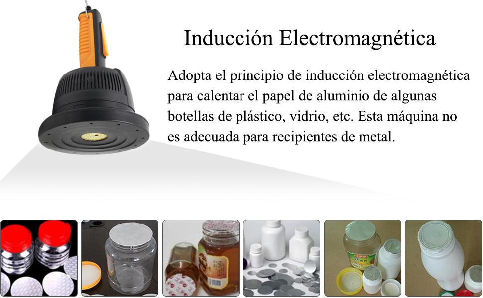 Sellador electromagn/ético para m/áquina de sellado de inducci/ón de Newtry DCGY-F500