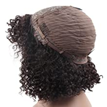 curly lace front wigs human hair wigs bob wig