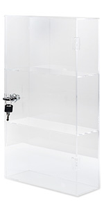 PERSPEX ACRYLIC MODEL DISPLAY CASE  650 X 345 X 200