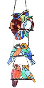 Bieye bird window panel
