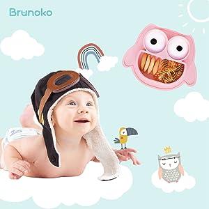 bavoir bébé // assiette bebe // assiette bebe ventouse // assiette compartiment // assiette enfant