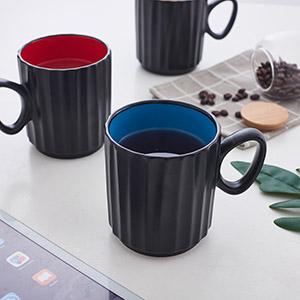 Coffee Mugs, 14 Ounces Large Handle Coffee Mug Set of 6, Ceramic Coffee, Tea, and mulled drinks mugs