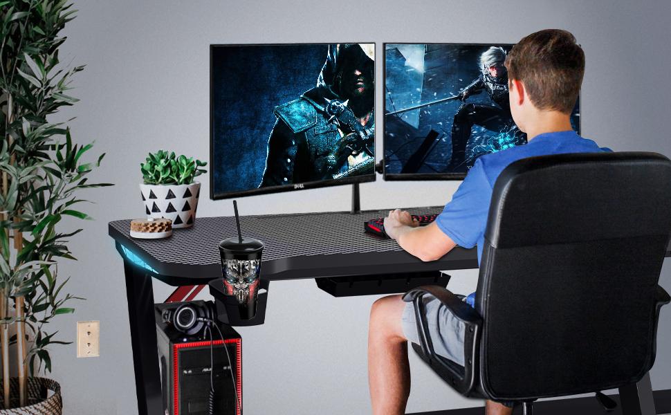 gaming desk computer desk computer gamer desk