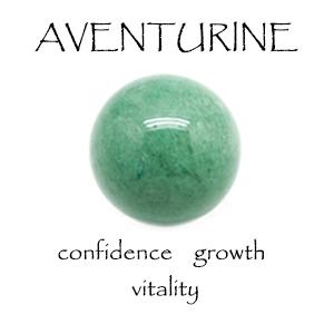 Personal growth green aventurine ball quartz chip calming mind anti stress relief harmony peace