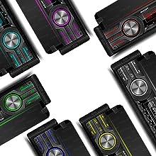 Dulcet DC-F90X 7 Colors Backlight Illumination