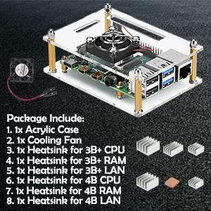pi 4 case with fan