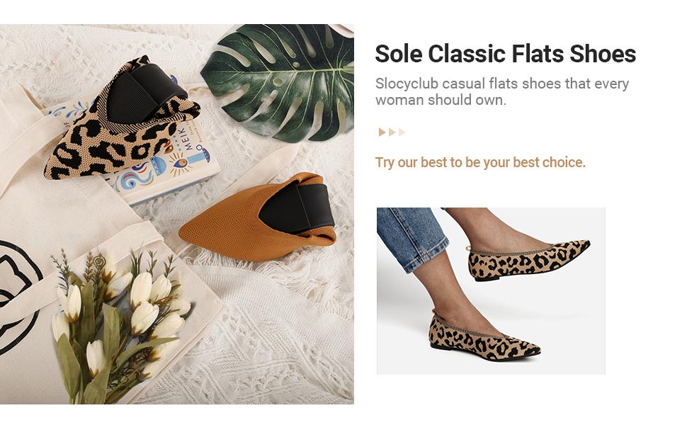 sole classic flats shoes