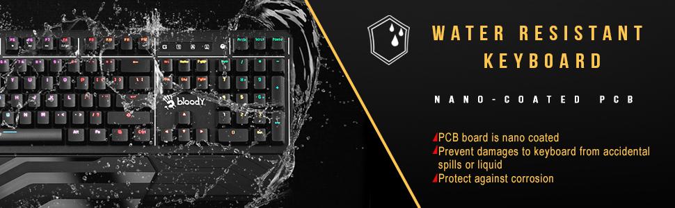 لوحة مفاتيح razer huntsman Elite من الفولاذ المقاوم للصدأ أبيكس برو هايبر إكس لوحة مفاتيح مقاومة للماء ألعاب دموية fps