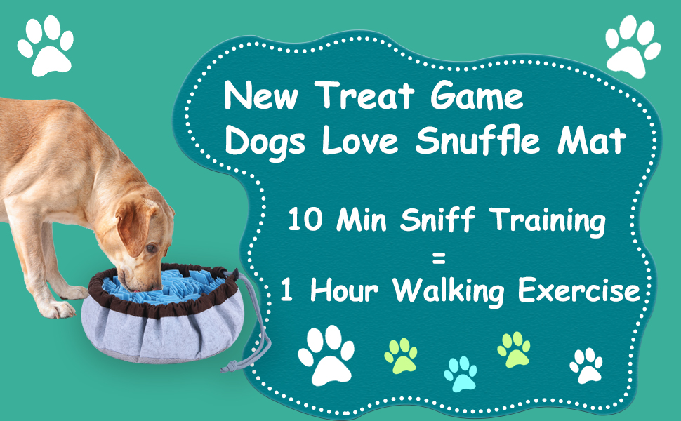 dog puzzle toys, snuffle mat for dogs