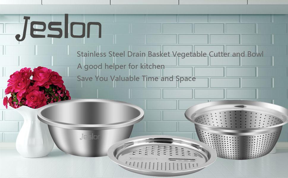Jeslon  3 in 1 Stainless Steel Kitchen tools