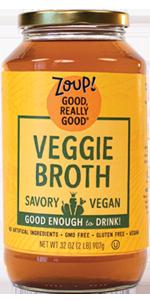 vegetable broth soup veggie