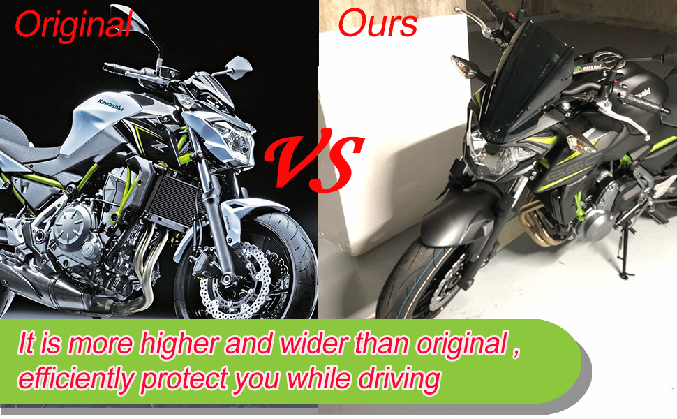 Motorcycle windshields