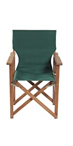 campaign chair foldable recliner outdoor backyard camping chair portable folding wood wooden