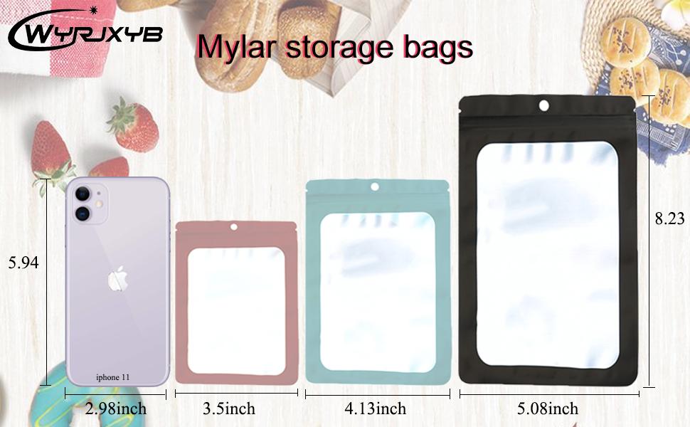 Mylar Zip lock Bags