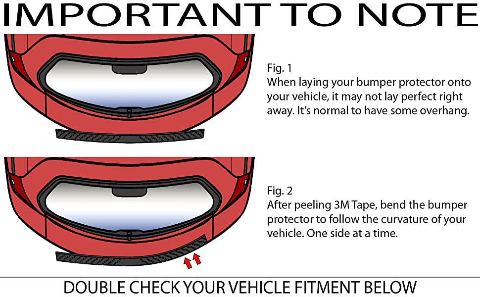 STEP 6 Graphic Explaining How To Bend Your Bumper Cover To Match The Curvature Of Your Bumper