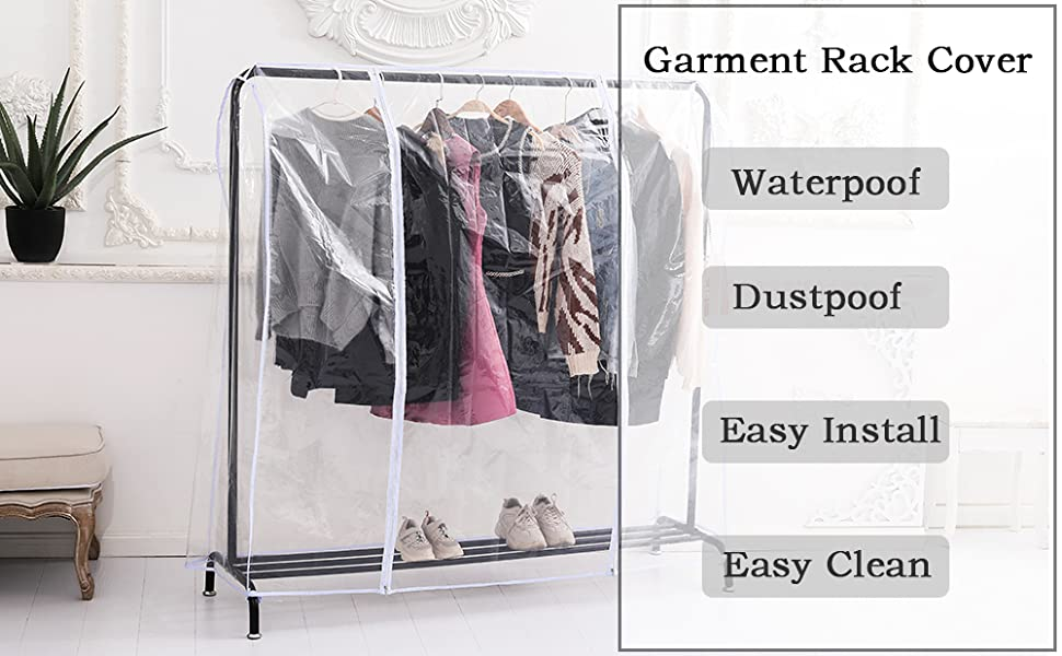 garment rack covers