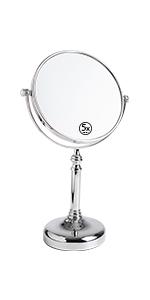 chrome finish mirror