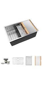 24 inch kitchen sink