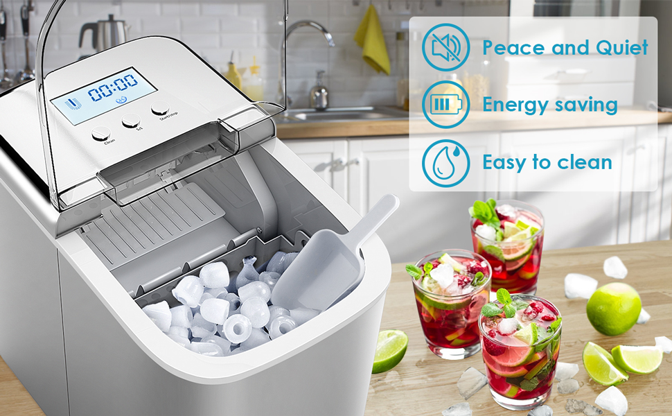 ARLIME's ice maker will bring you a new experience.