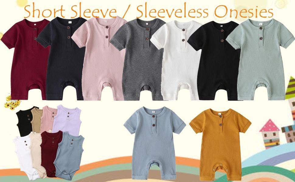 short sleeve onesie