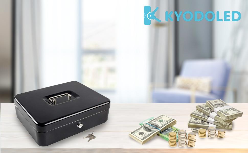 Cash box witn keys