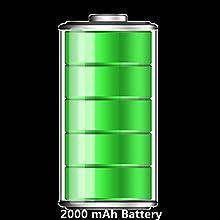 2000mAh batterij, Energiebesparing