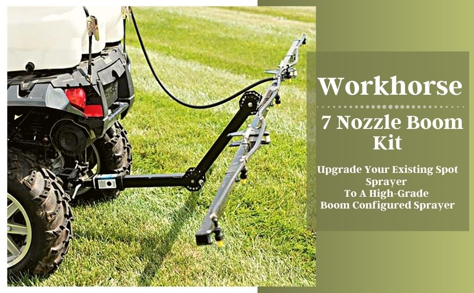 WorkHorse 7 Nozzle Boom Kit BK007ATV007BK