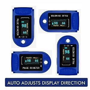 Auto Display Adjustment for Lumino Cielo Pulse Oximeter