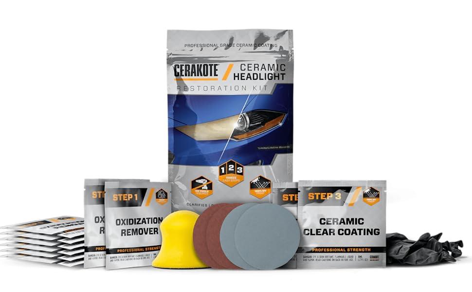 headlight restorer, headlight restoration kit, best headlight restoration, easy headlight restorer